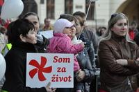 Zaregistrujte sa na II. národný pochod za život