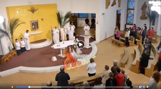 Reportáž z Večerov milosrdenstva v Leviciach